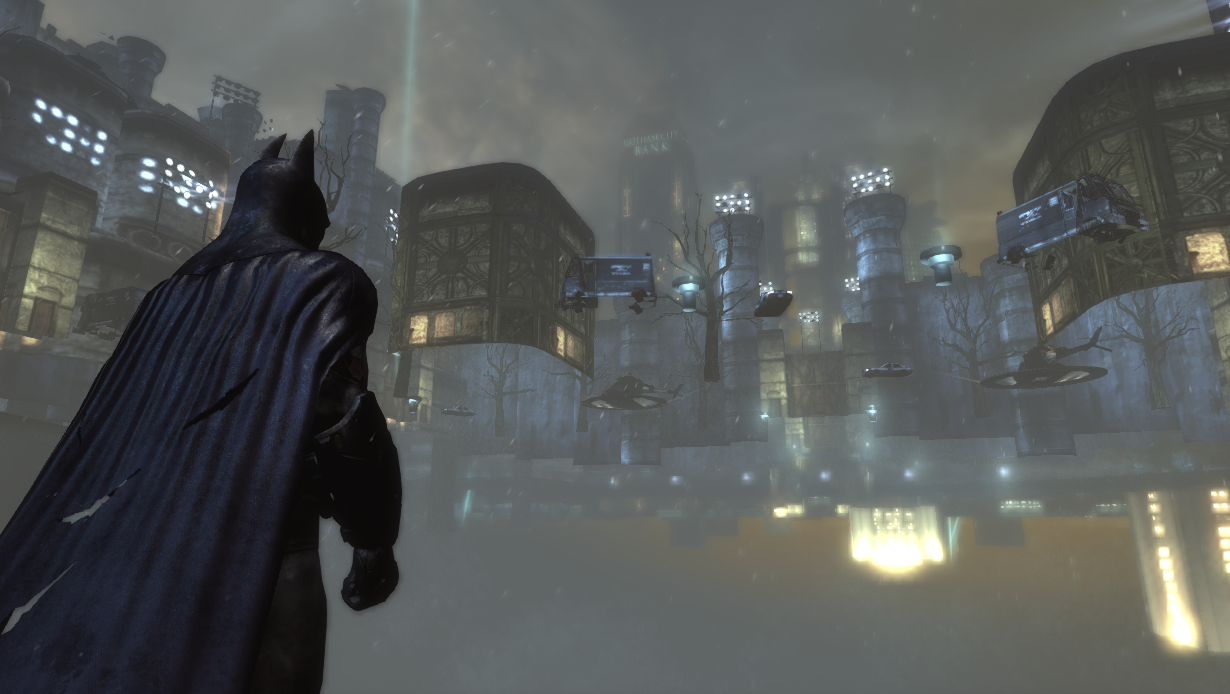 Arkham City Batman clip through ground